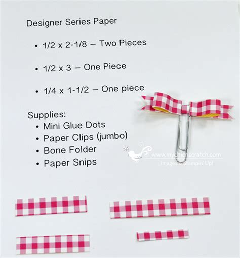 How To Make A Paper Clip Bow And Arrow - paper clip bows chic n scratch