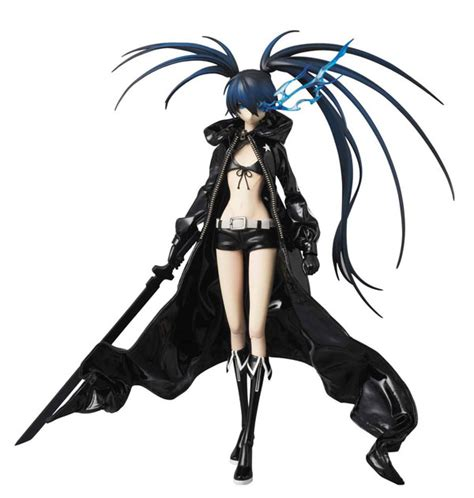 black rock shooter tv anime news network real action heroes no 550 black rock shooter my anime