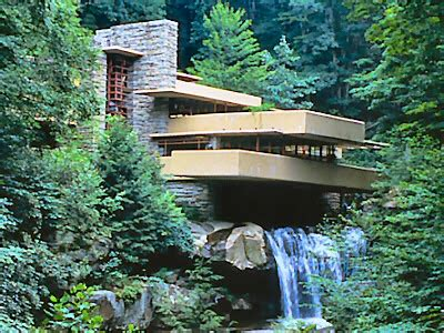 frank lloyd wright organic architecture falling water forever young