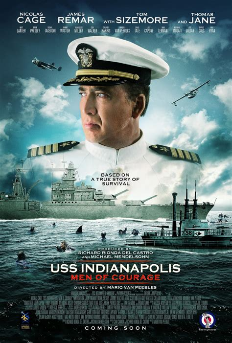 film indiana uss indianapolis men of courage dvd release date redbox
