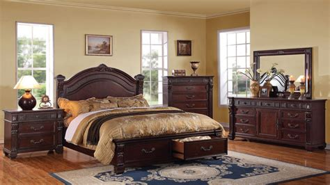 cheap wood bedroom sets traditional bedroom sets discount cherry bedroom