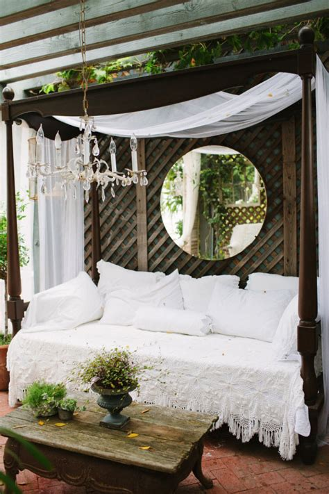 outdoor patio bed daydreaming outdoor beds centsational girl