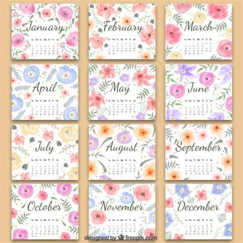 Calendã Vacinaã ã O Infantil 2017 Floral 2016 Calendar Vector Free