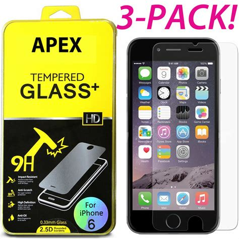 premium real tempered glass screen protector film