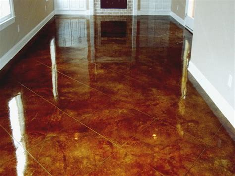 How To Finish Concrete Floors Interior by Flooring How To Finish Concrete Floors Interior Stained