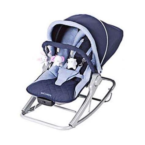 mclaren baby rocker maclaren vibrating baby rocker navy soft blue baby bouncer