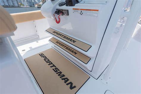 sportsman boats helm pad open 282 center console sportsman boats