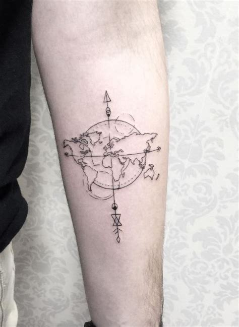 the 25 best ideas about world map tattoos on pinterest