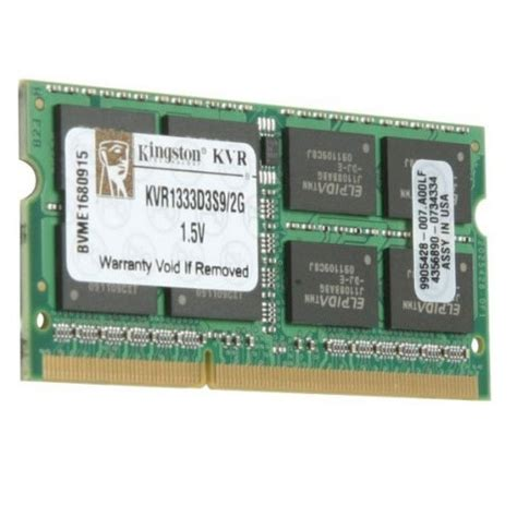 Ram Ddr3 Surabaya kingston sodimm ddr3 2gb kvr1333d3s9 2gb jakartanotebook