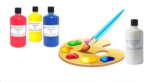 painting with children colour mixing theory