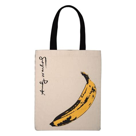Tote Bag Banana andy warhol banana tote bag