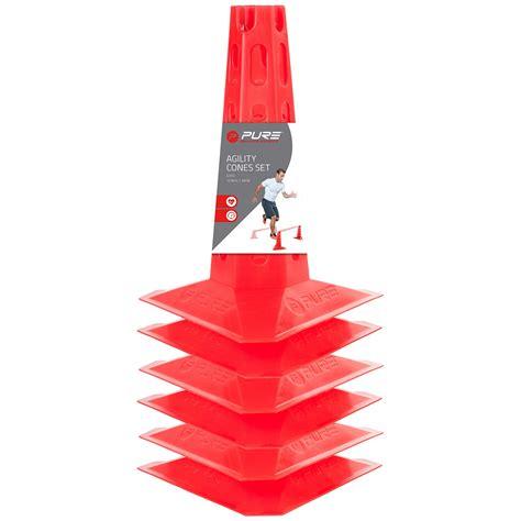 Cone 30 Cm agilit 233 c 244 ne 30 cm 6 pc