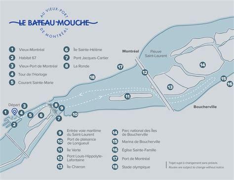 bateau mouche schedule cruise routes on the st laurent river bateau mouche