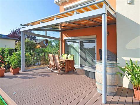 terrassendach mit markise pergolamarkisen der allwetterschutz f 252 r ihre