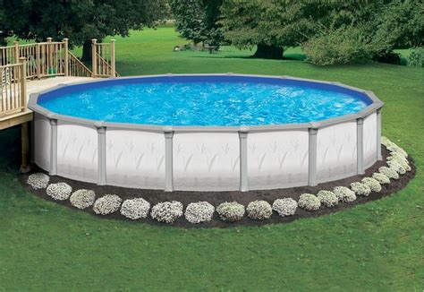 above ground pool landscape above ground pool from
