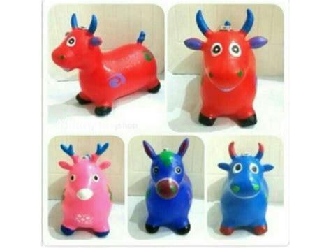 Toko Fivty Mainan Kuda Kudaan Balon Jumping Animal Musik mainan kuda kudaan animal jumping home appliance