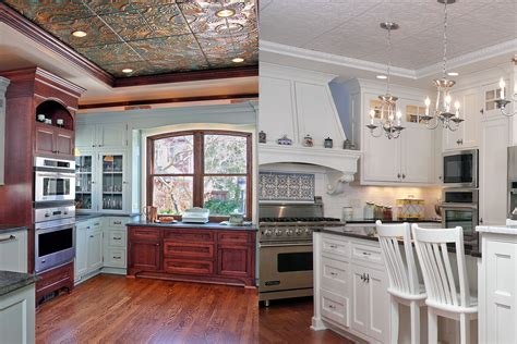 Rustic Kitchen Design Images by Tin Ceiling Archives Bartelt Remodeling