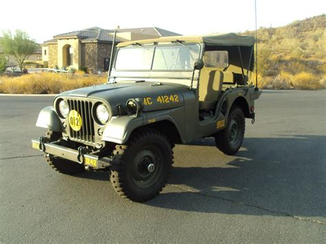 military jeep front 1953 willys military jeep 161505