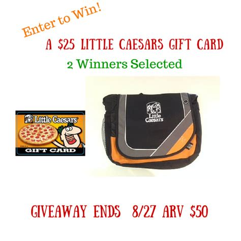 Caesars Entertainment Gift Card - little caesars pizza 25 gift card giveaway 2 winners