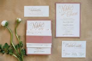 custom wedding invitations by ellie custom wedding invitations modern calligraphy