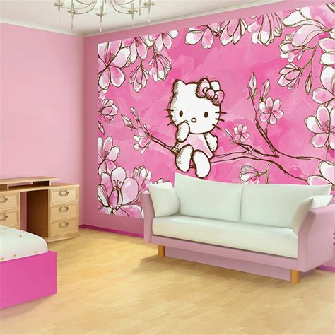 wallpaper dinding rumah hello kitty 101 wallpaper hello kitty untuk dinding kamar wallpaper