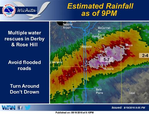 august 19th significant flash flooding