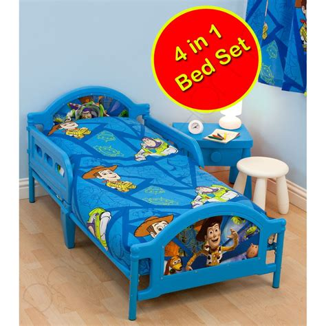 toy story bed toy story junior cot bed duvet pillow covers 4 1 rotary