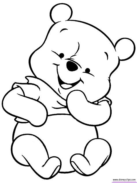 winnie the pooh coloring book baby pooh coloring pages search coloring