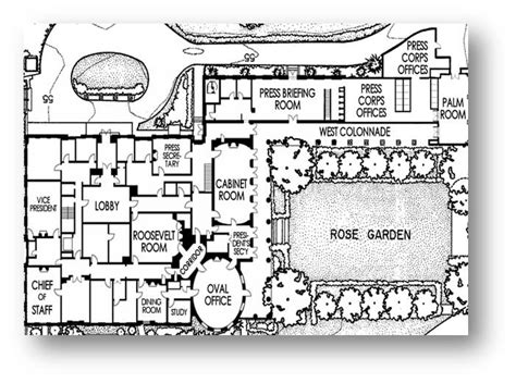 oval office floor plan white house layout floor plan escortsea