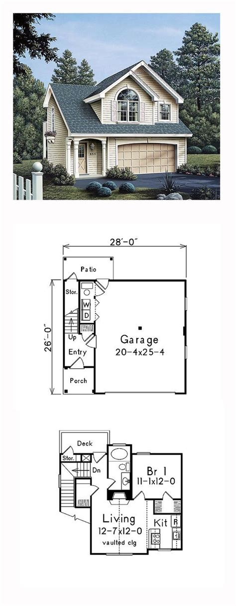 Garage Plans With Apartment On Top by The Ideas Of Using Garage Apartments Plans Theydesign