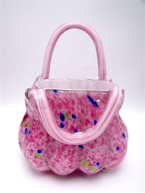 pink murano glass l 51 best glass purse collecting images on pinterest vase