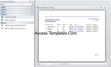 inventory management database for microsoft access 2010