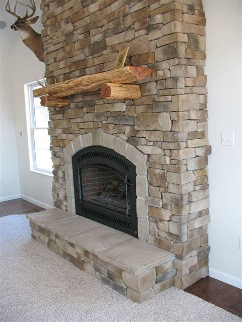 indoor stone fireplace 103 best images about stone fireplaces on pinterest