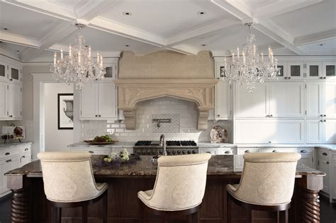 kitchen lighting ideas houzz island chandeliers 3601l 40 schonbek traditional