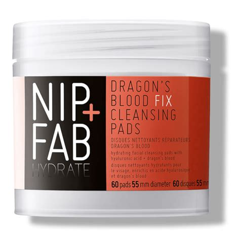 Detox Fix Coupon Code by Nip Fab S Blood Fix Cleansing Pads 60 Pads