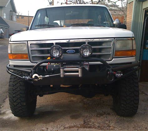 prerunner bronco bumper thanks hefty bumper and slider pics large images
