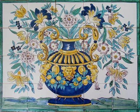 17th century italian tile murals tile