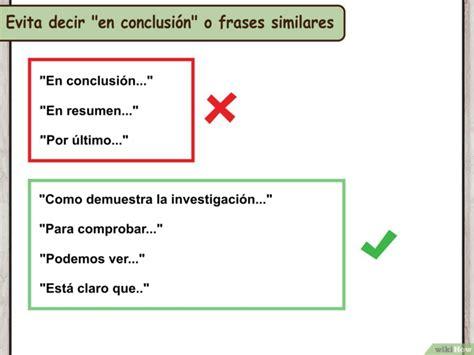 preguntas para hacer una conclusion c 243 mo escribir una conclusi 243 n para una investigaci 243 n