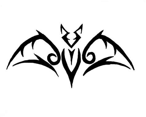 easy tattoo bat very simple tribal bat henna pinterest art simple