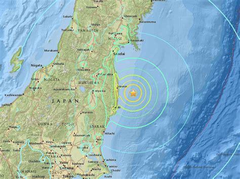 earthquake tokyo tsunami warning issued after 7 4 quake off fukushima in