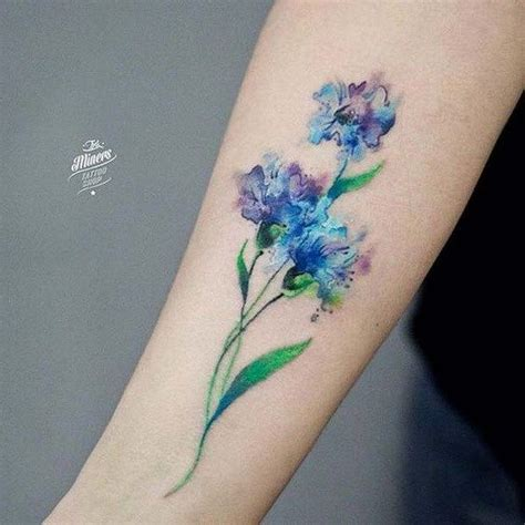 watercolor tattoo wildflowers 17 best ideas about watercolor wrist on
