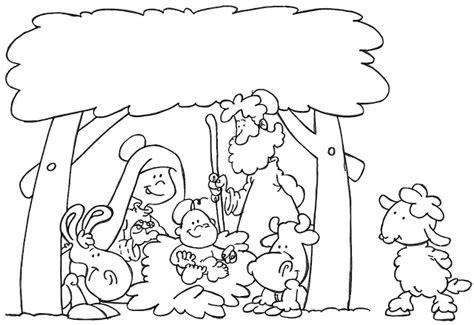 imagenes de nacimientos navideños para colorear y recortar dibujos del portal de bel 233 n