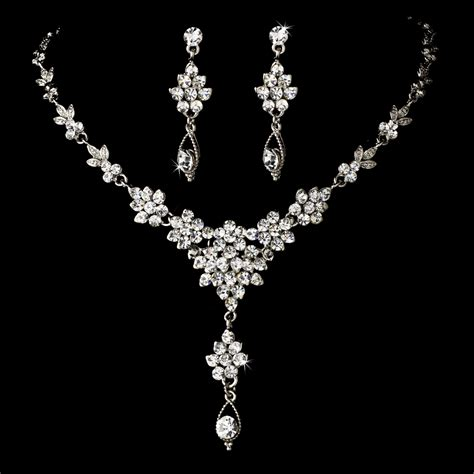 swarovski jewelry vintage drop swarovski jewelry set ne 902