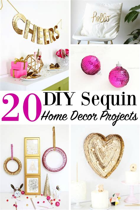 20 diy home projects 20 diy sequin home decor projects house decoration