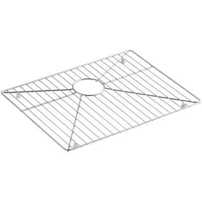 kohler sink rack rubber feet kohler vault stainless steel bottom basin rack k 6645 st