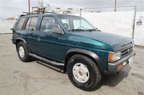 all car manuals free 1995 nissan pathfinder electronic valve timing purchase used 1995 nissan pathfinder xe 4 door 4wd manual 6 cylinder no reserve in