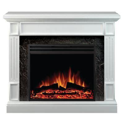 muskoka beale electric fireplace white 25 inch firebox
