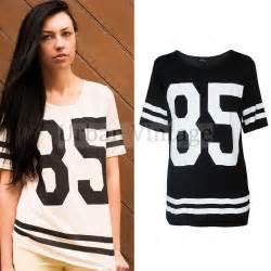 Jersey Duvet Covers Womens Baseball Jersey Shirt Dress Baggy Sports T Shirt
