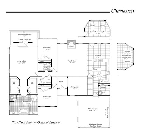 houses floor plan house illustration home rendering classic homes floor