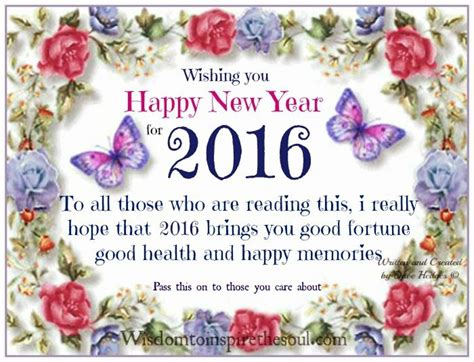 wishing u happy new year wishing you a happy new year 2016 pictures photos and images for